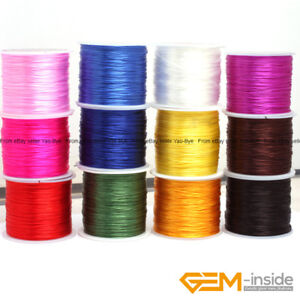 60-Yards-0-6mm-Elastic-Stretchy-Beading-Cord-Thread-Sewing-For-Jewelry-Making