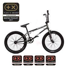 KHE BMX Fahrrad CHRIS BÖHM schwarz chrom nur 11,45kg!