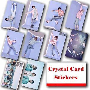 10pcs-set-Kpop-GOT7-Collective-HD-Lustre-Photo-Card-Crystal-Card-Sticker