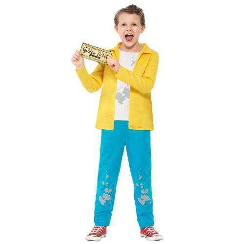 Bambini Ragazzi Ufficiale Roald Dahl Charlie Bucket Costume Libro Settimana Giorno Costume