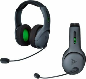 PDP 048-025-NA-BK Gaming LVL50 Wireless Stereo Gaming Headset for Xbox One -