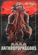 Anthropophagous 2000 DVD Massacre Video Andreas Schnaas German Gore SOV