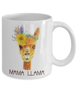 Mama LlamaGifts Coffee mug Tea cup Mother/'s day Birthday