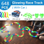 thumbnail 1 - Electric-Race-Track-Magic-Rail-Car-Toy-Glowing-Racing-Tracks-Car-Educational-Toy