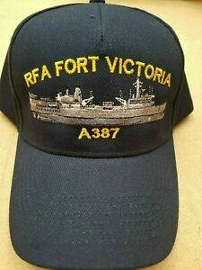 RFA Fort Victoria (A387) Embroidered Baseball Caps & Beanies