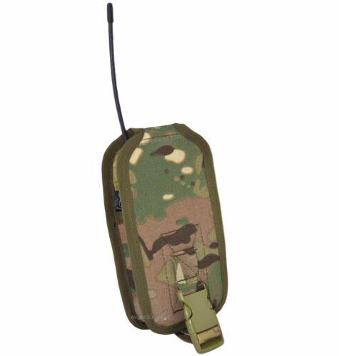 SPOSN SSO Radio Pouch PRS-K MOLLE Multicam