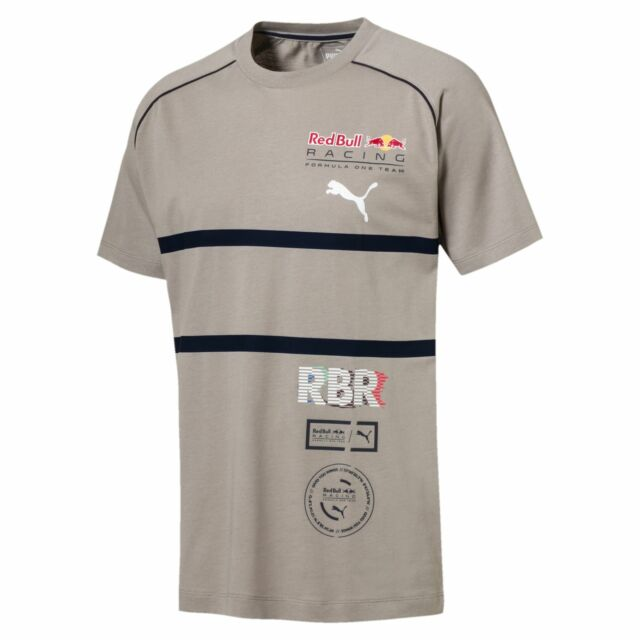 Puma 576634 06 Red Bull Racing Speedcat Evo Grey Men's Shirt