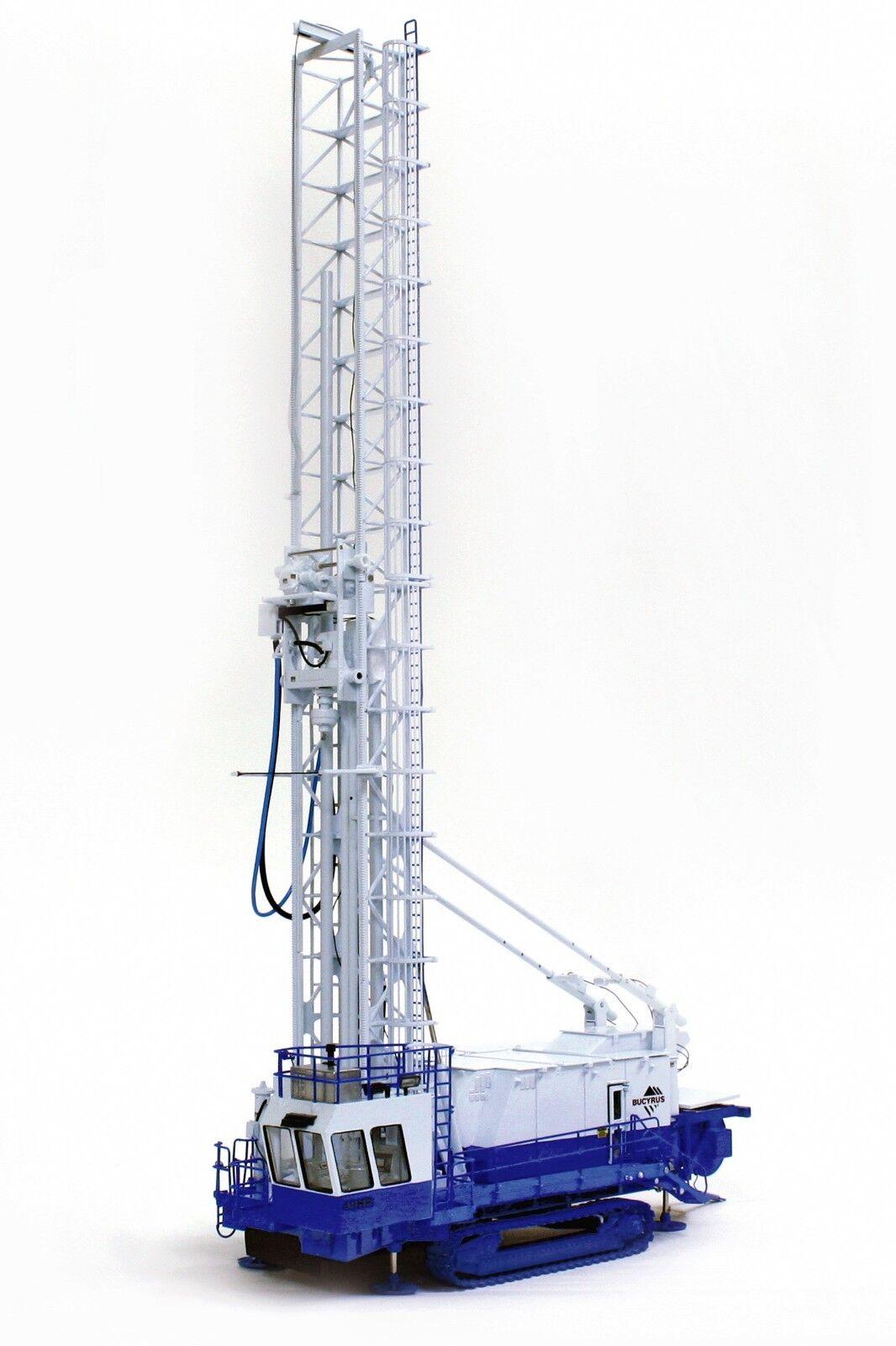 Felice shopping Bucyrus 49HR  Drill Drill Drill Rig -  blu & bianca  - 1 50 - TWH  022-01022  prezzo all'ingrosso