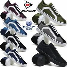 Mens Dunlop Canvas Shoes Casual Boat Deck Plimsolls Pumps Retro Skates Trainers