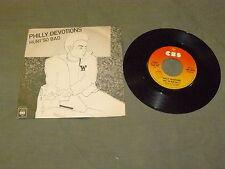"PHILLY DEVOTIONS ""HURT SO BAD"" 7"" CBS Ita 1976 SOUL DISCO"