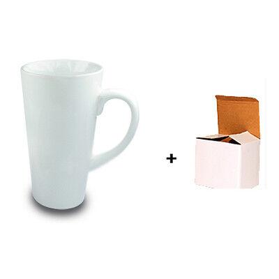 24 x 17oz LATTE COFFEE CERAMIC SUBLIMATION MUGS FOR SUBLIMATION HEAT PRESS
