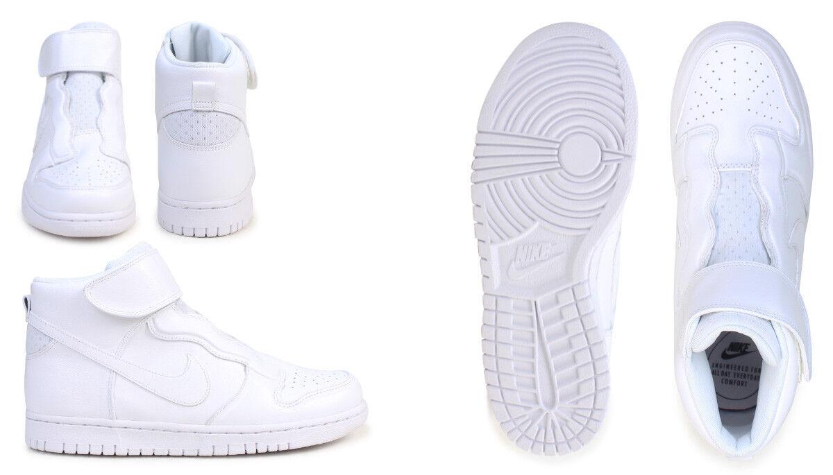Nike Mujeres Dunk Hi facilidad Zapatos Qs Salón Qs Zapatos 7.5 Blanco 896187-101 fdd98f