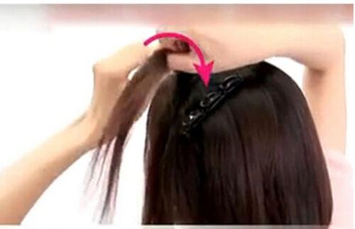 Frauen Double Hair Pin Clips Barrette Kamm Haarnadel Haar Scheibe WRDE