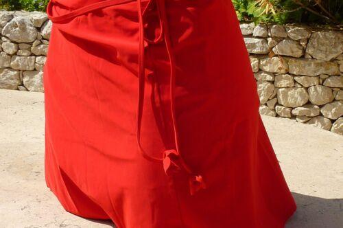 dégriffé jupe de plage de RASUREL rouge taille unique *NEUF**