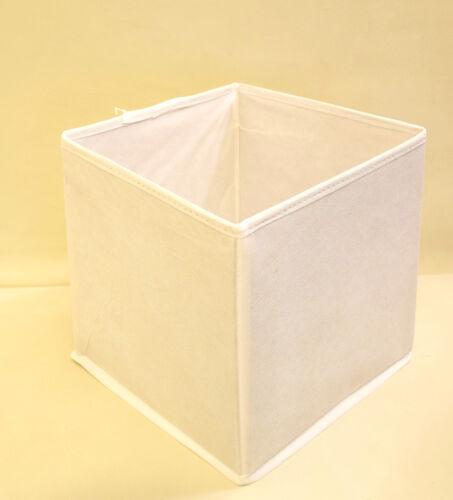 """Nouveau /""""pliable pliant toile tissu boîte de rangement étagère de bureau vêtements jouets"""