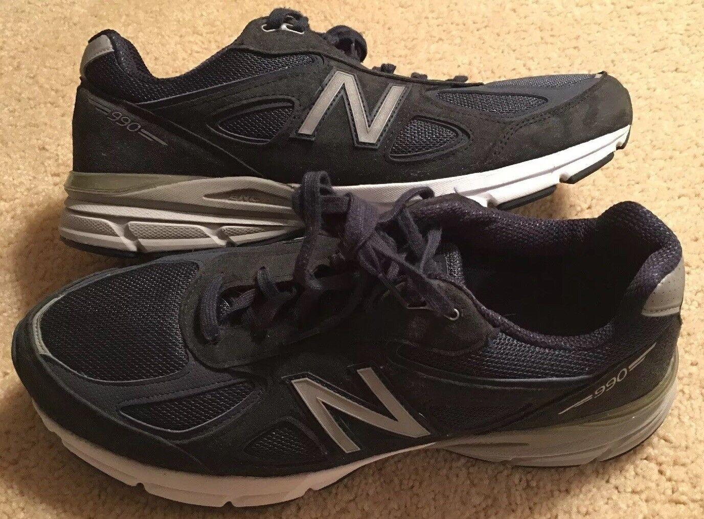 NEW BALANCE TEAM USA 990v4 shoes -Men's Running SKU M990NV4 Size 14 2E Width Mint