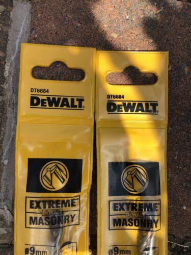 9mm x 120mm Pack Of 2 DeWalt DT6684 Drill Bit