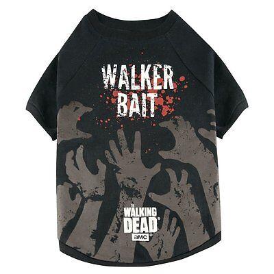 Zuversichtlich The Walking Dead - Hunde T-shirt - Walker Bait (s-xl)