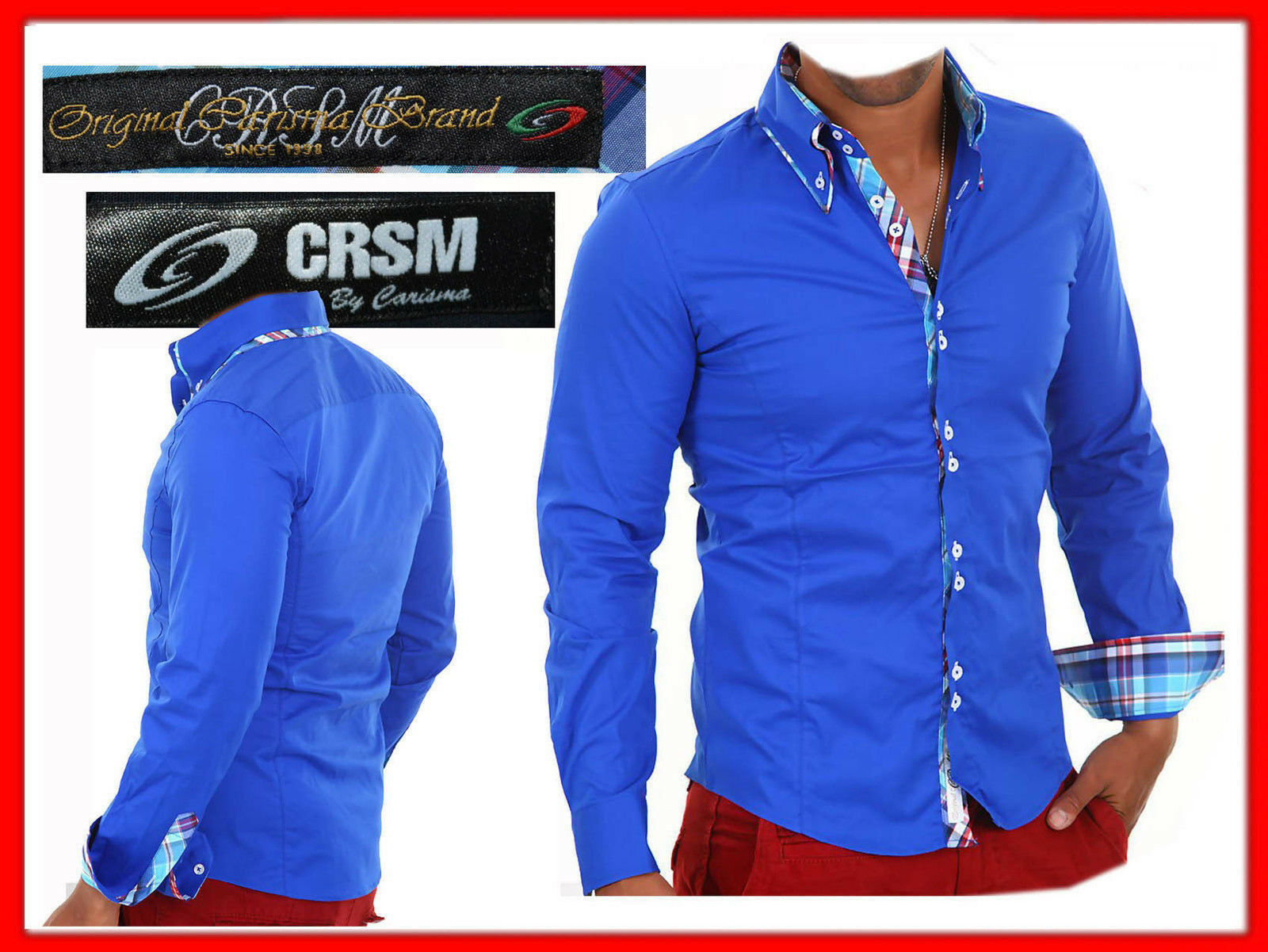 CARISMA (ITALY) Shirt For Man S or 3XL  EVEN - 85 % ¡¡¡ CA03 TOL1