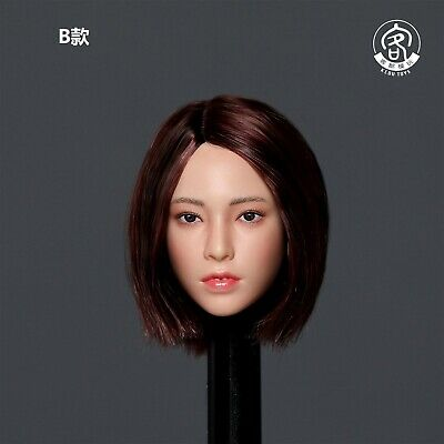 DSTOYS D-006 1:6 Female Head Sculpt Model Short Hair