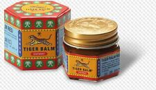 10g. TIGER BALM RED RELIEF OF MUSCULAR ACHES PAIN SPRAINS OINTMENT MASSAGE RUB
