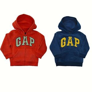 New baby Gap Authentic Boys Girls Fleece Arch Logo Hoodie Sweater ...