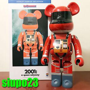 89586a08 Image is loading Medicom-1000-Bearbrick-Stanley-Kubrick-Be-rbrick-2001-