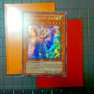 Secret Rare Limited Edition light play Thunder King Rai-Oh YG02-EN001