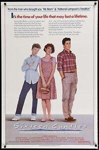 SIXTEEN-CANDLES-1984-Movie-Poster-27x41-BratPack-JohnHughes-80s-MoviePoster