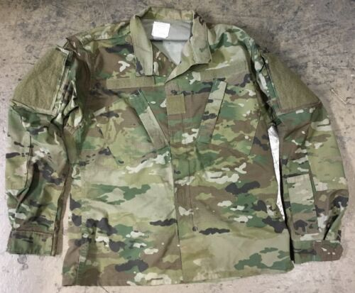 US Army OCP ACU Scorpion w2 Combat Military Camouflage Veste Mr Medium Regular