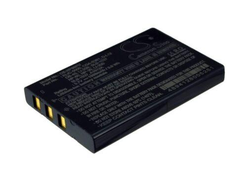 Li-ion batería para Toshiba Camileo Pro pa3620e pdr-bt3 Pdr-t30 Pdr-t20 Nuevo