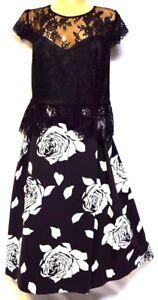 TS-dress-TAKING-SHAPE-EVENT-WEAR-plus-sz-XS-14-039-Isabella-039-lace-sateen-NWT-280