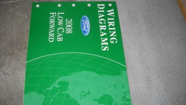 2008 Ford Low Cab Forward Electrical Wiring Diagrams Ewd Shop Service Manual