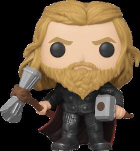 Avengers-4-Endgame-Thor-with-Weapons-Pop-Vinyl-FUNKO-New