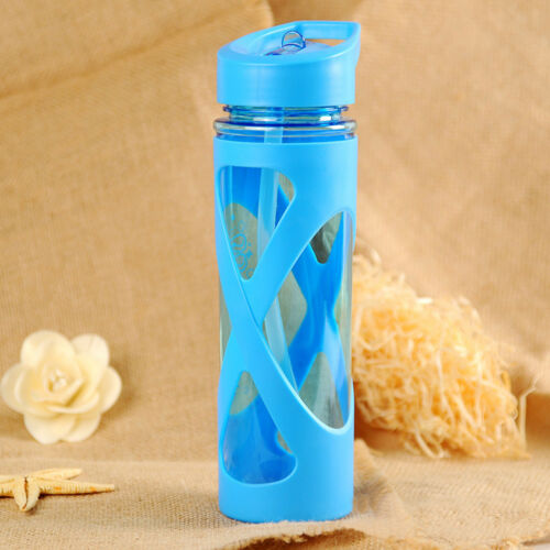 LN/_ CN/_ 580ML Anti Hot Leak Proof Plastic Tour Hiking Sport Drink Water Bottle