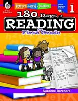 180 Days Of Reading, Grade 1 Children Textbooks Learning Practice Toddlers on sale