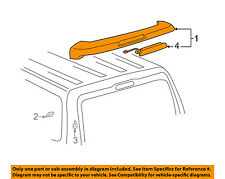 Rr Spoiler Sub-Assy 76085-47020-B0 Genuine Toyota Parts