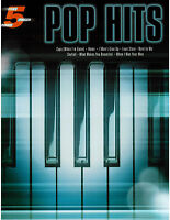 Five Finger Piano Pop Hits I Won't Give Up Love Story Skyfall Home
