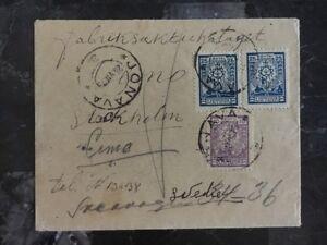 1925 Jonava Litauen zu Schweden