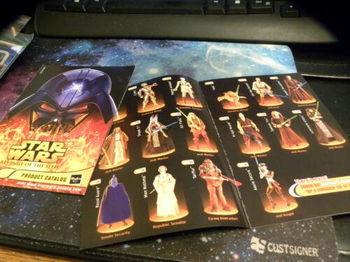 Hasbro 2005 Product Catalog Star Wars REVENGE OF THE SITH INSERT