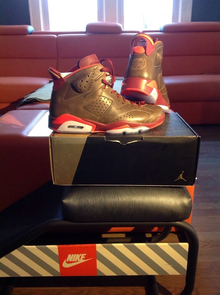 NIKE AIR Jordan 6 Cigar Size 10.5 Authentic/Receipt