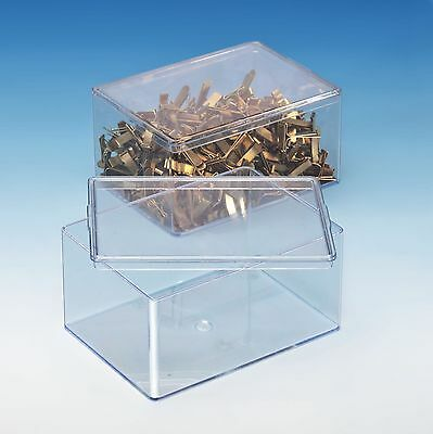 20 Stück Klarsichtdose 93 x 63 x 43 mm Rechteckdose Präsentationsbox Geschenkbox
