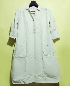 Linen-Shirt-Dress-Minimalist-With-Contrast-Stitch