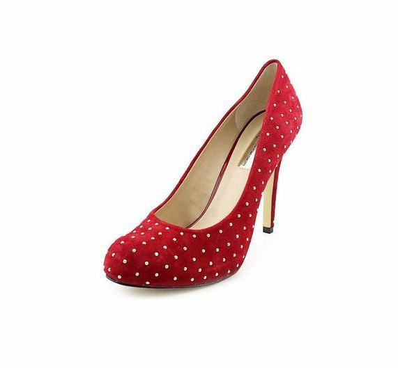 Inclus Lilley rouge femme chaussures (6, rouge)