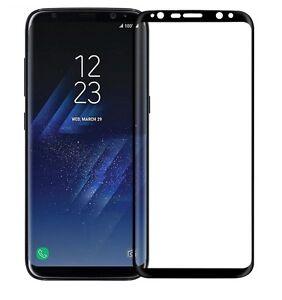 Samsung-Galaxy-S8-3D-Schutzglas-Schutzfolie-4D-Full-Cover-SCHWARZ-SCREEN