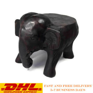 Super Details About Small Wooden Hand Carved Elephant Stool Seat Chair Stand Vintage Antique Kid 8 Gmtry Best Dining Table And Chair Ideas Images Gmtryco