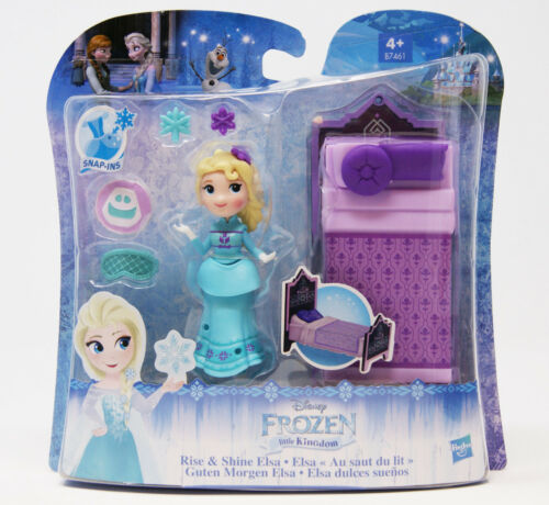 Disney Little Kingdom Guten Morgen Elsa Elsa mit Bett Frozen