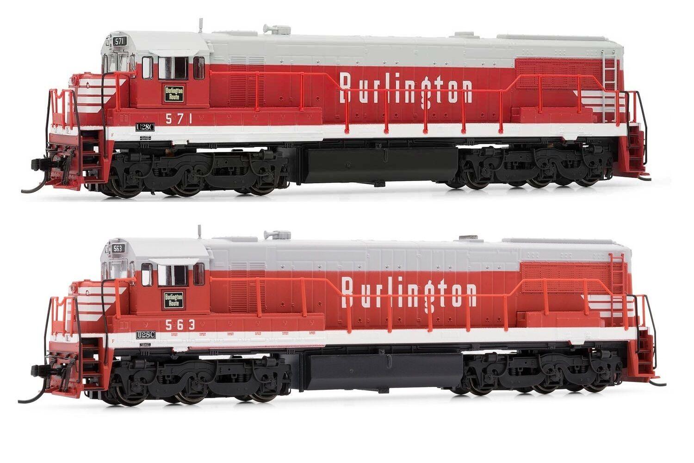 Arnold Burlington CB&Q GE U28C Diesel DCC Ready   N Scale Locomotives