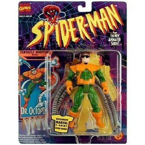 Marvel Spiderman la serie animada Dr. Pulpo con tentáculo batir Acción