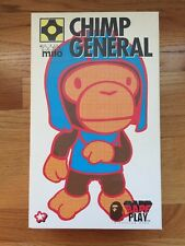 A BATHING APE BAPE PLAY BABY MILO CHIMP GENERAL APE FIGURE MODEL KIT Green JAPAN